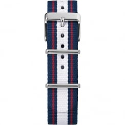 Timex Weekender Fairfield 20mm Red, White & Blue Watch Strap TW7C06900