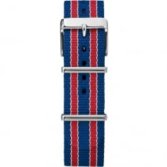 Timex Weekender Fairfield 20mm Red, White & Blue Watch Strap TW7C07100