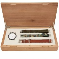 Timex X END. Black Dial Navi Ocean Watch with 3 Changeable Straps TW2R78500