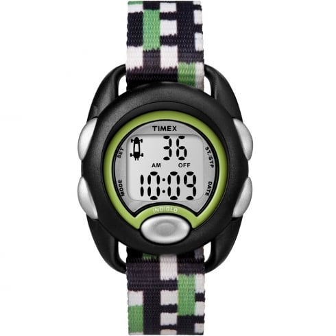 Timex Youth Digital Chronograph Black Strap Kids Watch TW7C13000