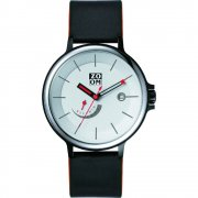 Zoom Air white dial leather strap Mens watch ZM.7110M.2501