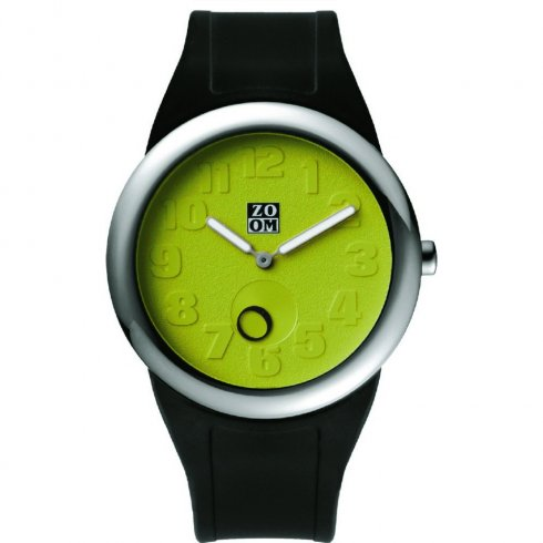Zoom Beat green dial rubber strap Mens watch ZM.3755M.9511