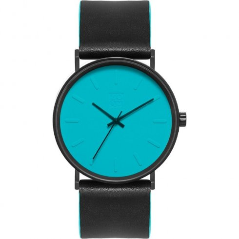 Zoom Lounge blue dial leather strap Mens watch ZM.3811M.2503