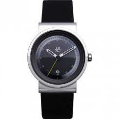 Zoom Skyline black dial leather strap Mens watch ZM.3658M.2508