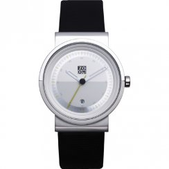 Zoom Skyline white dial leather strap Mens watch ZM.3658M.2501