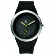 Zoom Sunday black dial rubber strap Mens watch ZM.3755M.9502